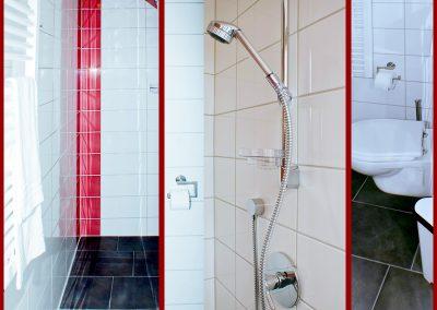 Eiswerk-Badezimmer